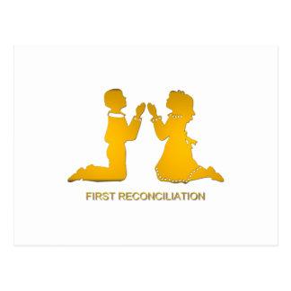 Primera reconciliación postal