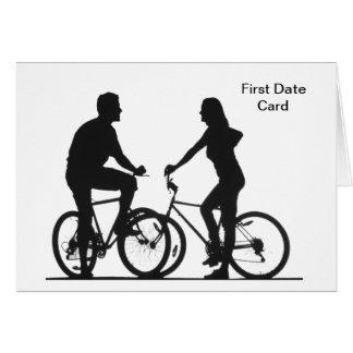 Primera tarjeta de fecha