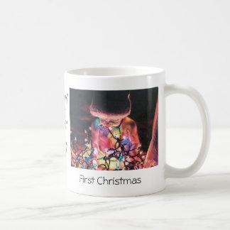 Primera taza del navidad con la impresión original