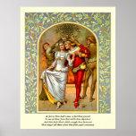 Primeras 4 líneas de soneto # 11 de Shakespeare Impresiones