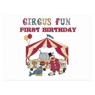 Primeras camisetas y regalos del cumpleaños del ci postales