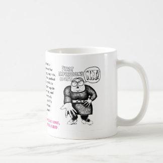 Primeras impresiones taza de café