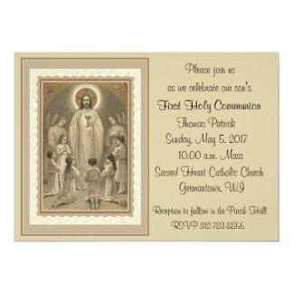 Primeras invitaciones de la comunión santa