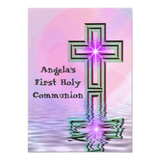 Primeras invitaciones de la comunión santa del anuncio