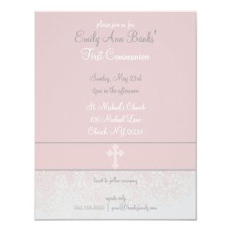 Primeras invitaciones de la comunión santa del invitación 10,8 x 13,9 cm