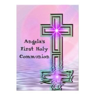 Primeras invitaciones de la comunión santa del ros anuncio
