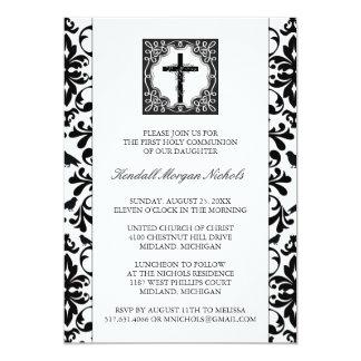 Primeras invitaciones de la comunión santa invitación 12,7 x 17,8 cm