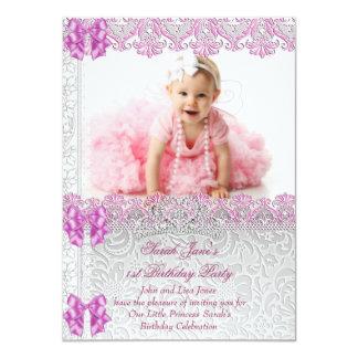 Primero 1ra princesa Pink Photo de las chicas Comunicados