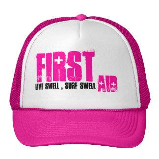 Primero, ayuda, gorra de la resaca de los chicas