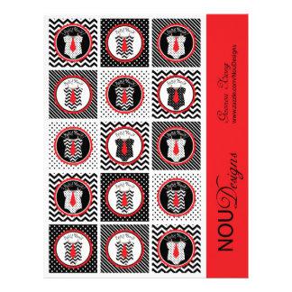 Primero de la magdalena de la impresión de la folleto 21,6 x 28 cm