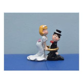 Primero de la torta de novia y del novio tarjetas publicitarias