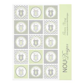Primeros de la magdalena de la impresión de la folleto 21,6 x 28 cm