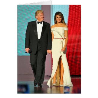 Primeros pares Donald y bola de la libertad del Tarjeta De Felicitación