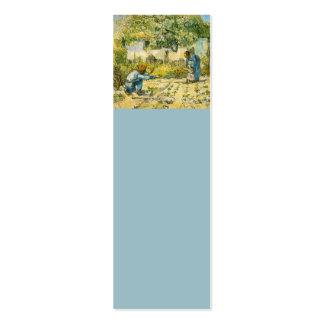 Primeros pasos de Vincent van Gogh 1890 Tarjetas De Visita Mini