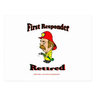 Primeros respondedores jubilados del fuego postal