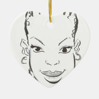 Princesa africana ornamentos para reyes magos