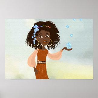 Princesa africana Doli Poster