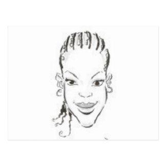 Princesa africana postal