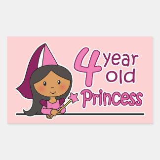 Princesa Age 4 Rectangular Altavoces