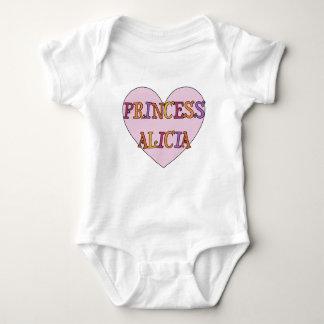 Princesa Alicia Baby Outfit Body Para Bebé