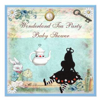 Princesa Alicia en fiesta del té de la fiesta de b Comunicado Personalizado