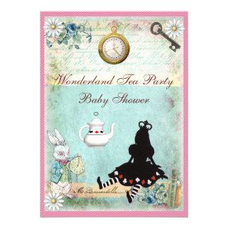Princesa Alicia en fiesta del té de la fiesta de b