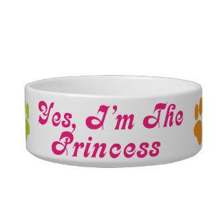 Princesa Attitude Pet Dish Gift Comedero Para Mascota