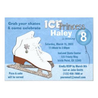 Princesa AZUL del hielo de la invitación del Invitación 12,7 X 17,8 Cm