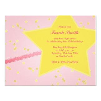 Princesa Birthday Invitaciones Personalizada