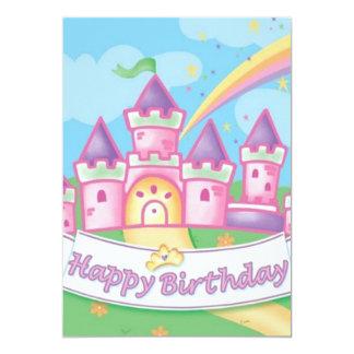 Princesa Birthday Invitación 12,7 X 17,8 Cm