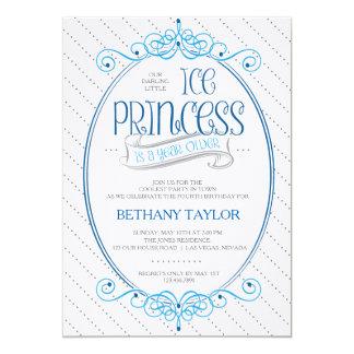 Princesa Birthday Invitation Invitación 12,7 X 17,8 Cm