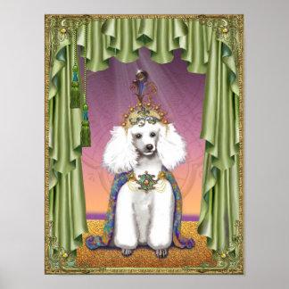 Princesa blanca Poster Print de Extremo Oriente de