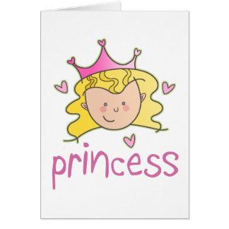 Princesa Blonde Tarjetas