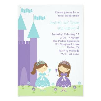 Princesa bonita Invitation Invitación 12,7 X 17,8 Cm