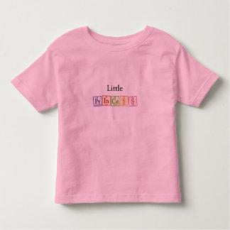 Princesa - camiseta del niño del friki de la