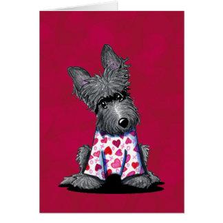 Princesa Card del pijama del escocés Felicitación