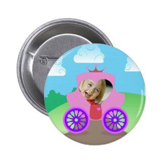 Princesa Carriage Custom Photo Pins