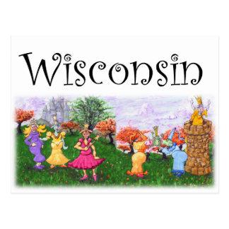 Princesa Cows de Wisconsin Postal