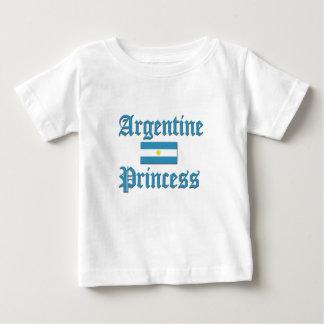 Princesa de Argentina Camiseta Para Bebé