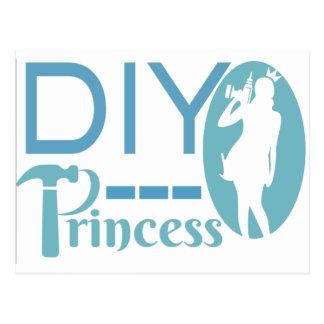 Princesa de DIY Postal