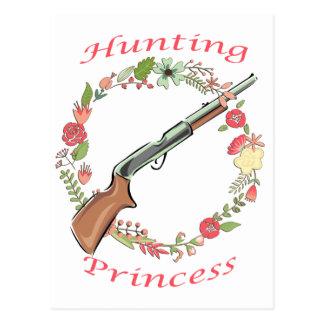 Princesa de la caza postal