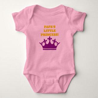 Princesa de Lil de la papá Body Para Bebé