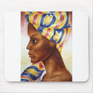 Princesa de Nubian Alfombrilla De Ratón