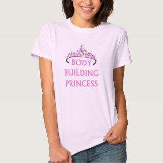 Princesa del culturismo camiseta