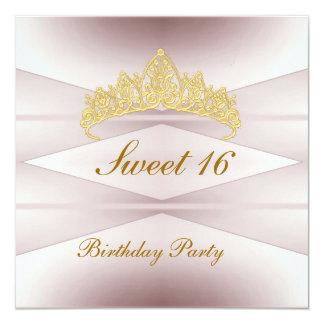 Princesa del dulce 16 de la invitación