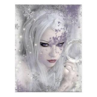 Princesa del hielo postal