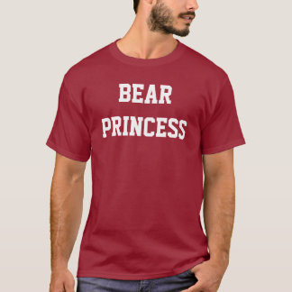 Princesa del oso camiseta