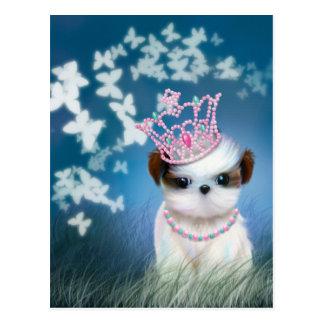 Princesa del perrito postal