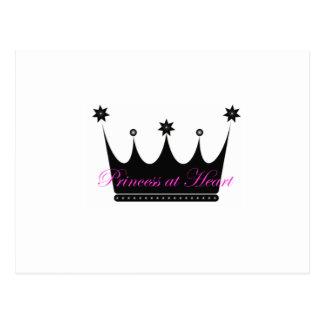 Princesa en el corazón postales
