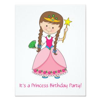 ¡Princesa en estilo! Invitación 10,8 X 13,9 Cm